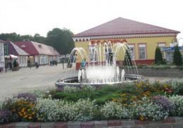 Фонтан на ул.Советская